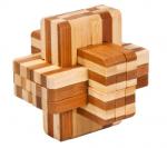 BambusPuzzle BlockKreuz2