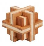 BambusPuzzle Doppelkreuz