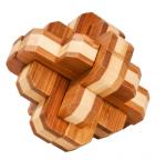 BambusPuzzle Runder Knoten