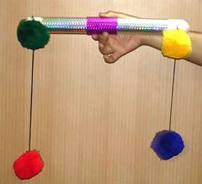 Pom-Pom-Stick