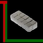 Wuerfelmagnete 5mm Ni 1